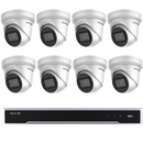Hikvision DarkFighter 6MP 8CH Turret IP CCTV Kit (with 3TB HDD)
