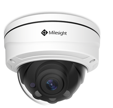 Milesight MS-C5372-FPB 5MP Motorised Lens Dome Network Camera
