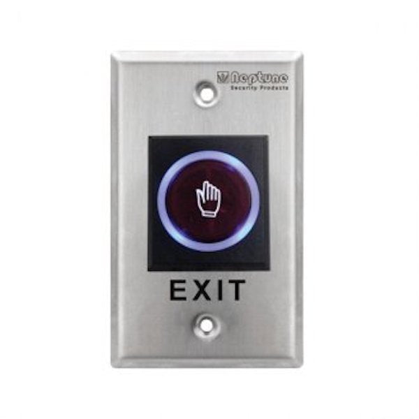 Neptune NENACLBD Touchless Exit Button with LED Indicator