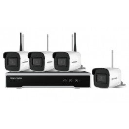 Hikvision NK44W0H-1T 4MP 4CH Bullet IP WiFi CCTV Kit
