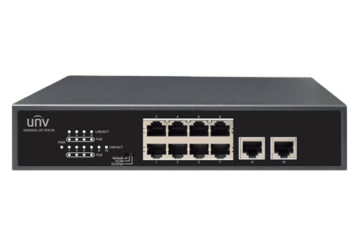UNV NSW2010-10T-POE-IN 10-Port PoE Switch