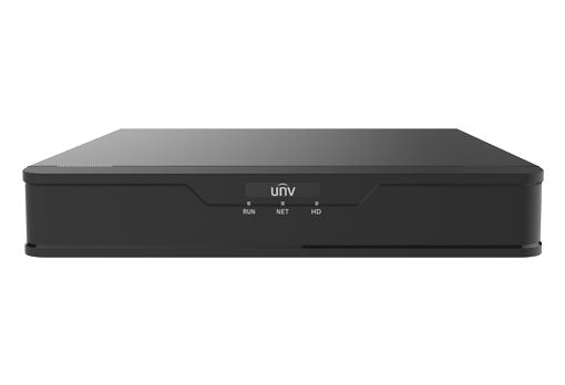 UNV NVR301-08X-P8 8 Channel PoE 4K NVR (with optional hard drive)