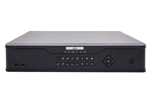 UNV NVR308-64E-B 64 Channel 8HDDs 4K NO Hard Drive