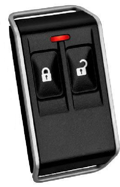 Bosch RFKF Wireless Radion Keyfob Two Buttons