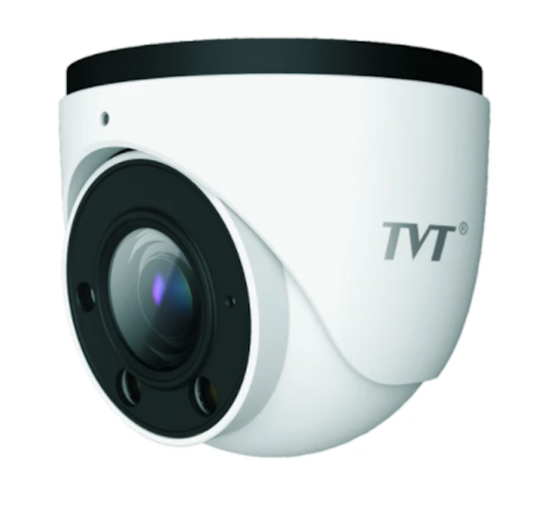 TVT Face Recognition 6MP & 2MP 8CH Eyeball IP CCTV Kit (with 4TB HDD)