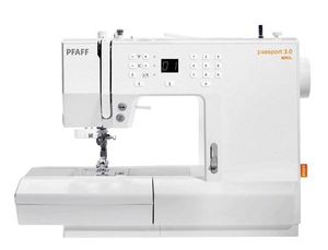 Pfaff Passport 3.0 Compact Sewing Machine.
