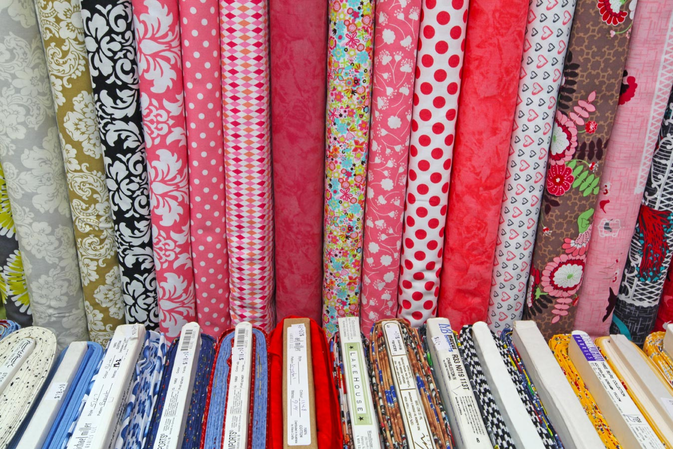The Quilters' Patch Shop patterned fabric