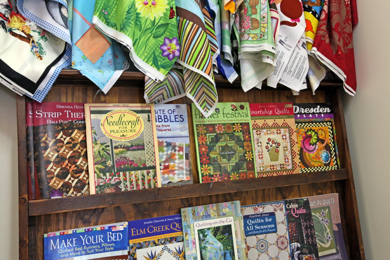 The Quilters' Patch Shop books