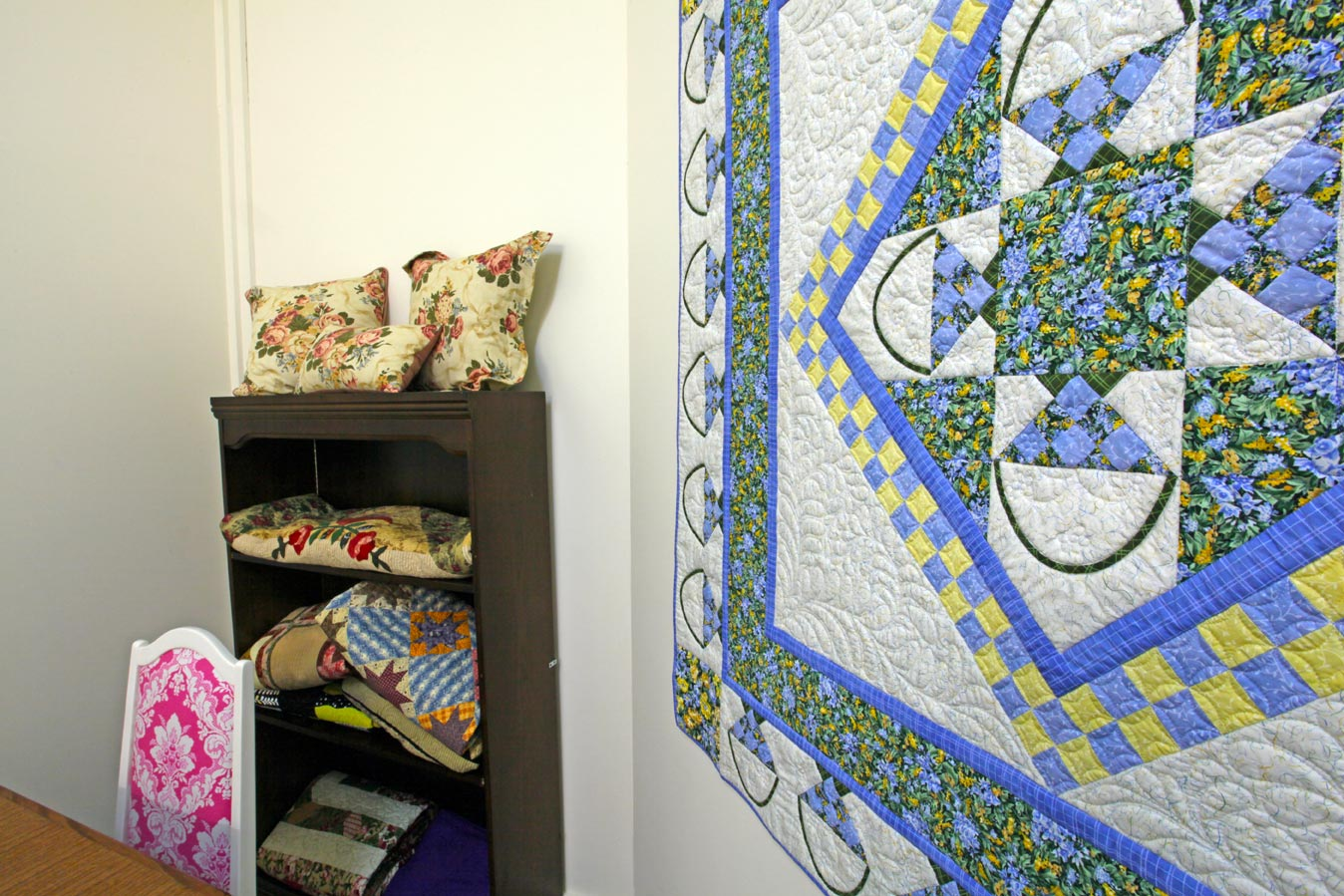 The Quilters' Patch Shop quilting classes