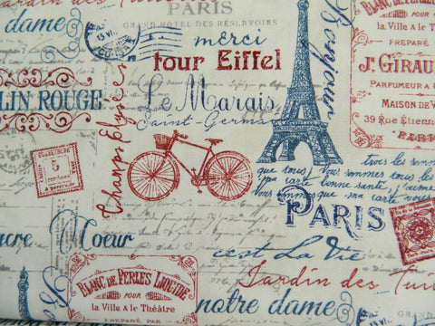 Paris Always A Good Idea by Northcott Studio Style 22355 (25cm)