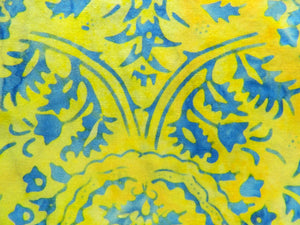 Batik Yellow & Blue #4210-302