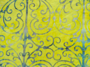 Batik Yellow & Blue   #4210-412