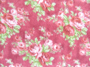 Floral Red. Forget me not Flannel #2322033