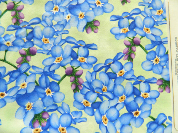 Floral Blue    Sow much to love H8724