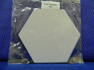 "English Paper Peices  2-1/2"" Hexagon (50)"