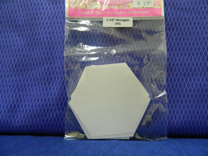 "English Paper Pieces  1-1/2"" Hexagon (50)"