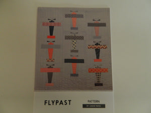 "Pattern Fabric ""Flypast"" By Louise Papas"