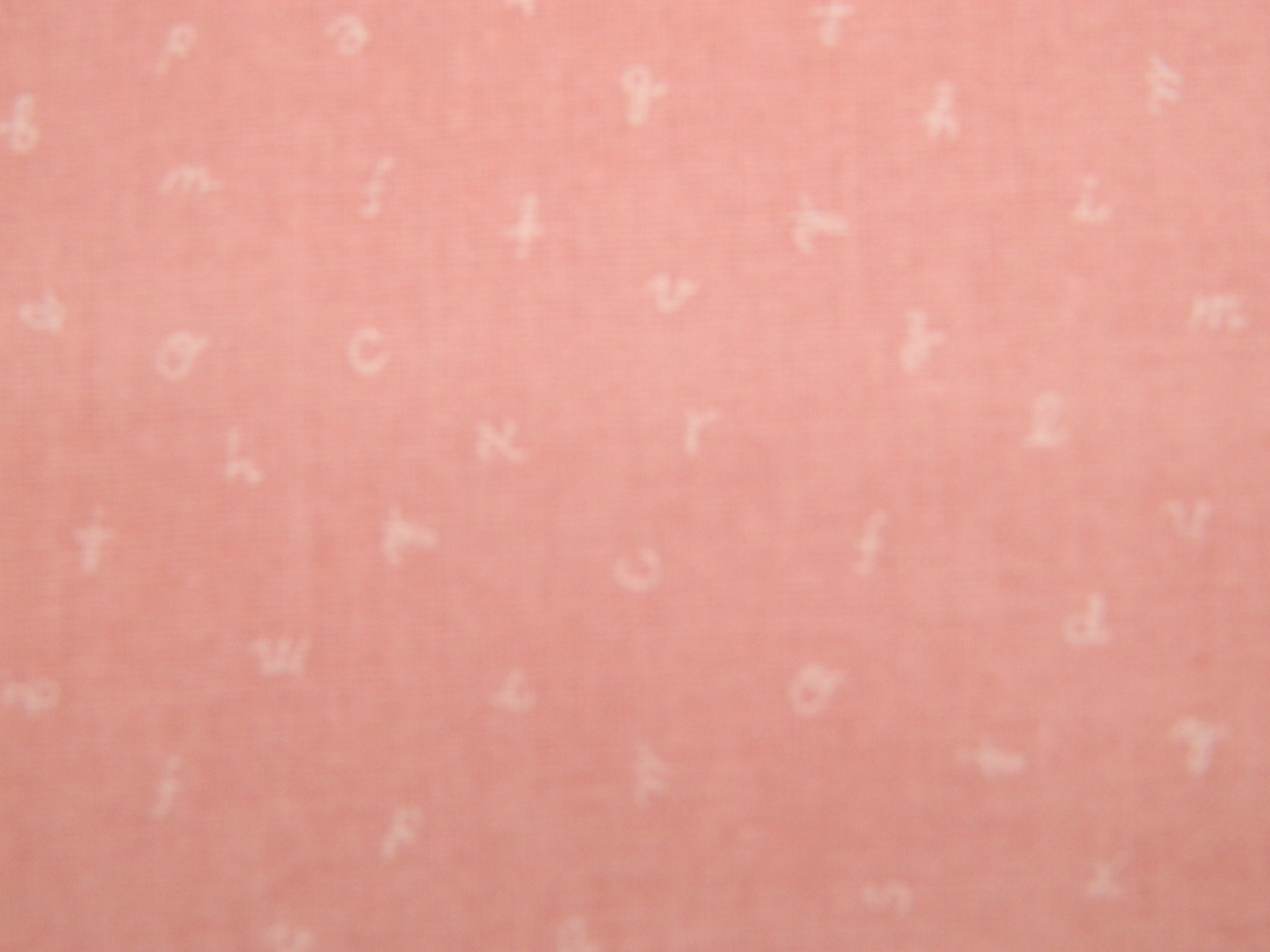 Pink Letters SS10257LH