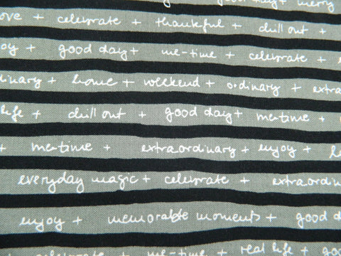 Taupe Black stripe  Quotation M1732 16