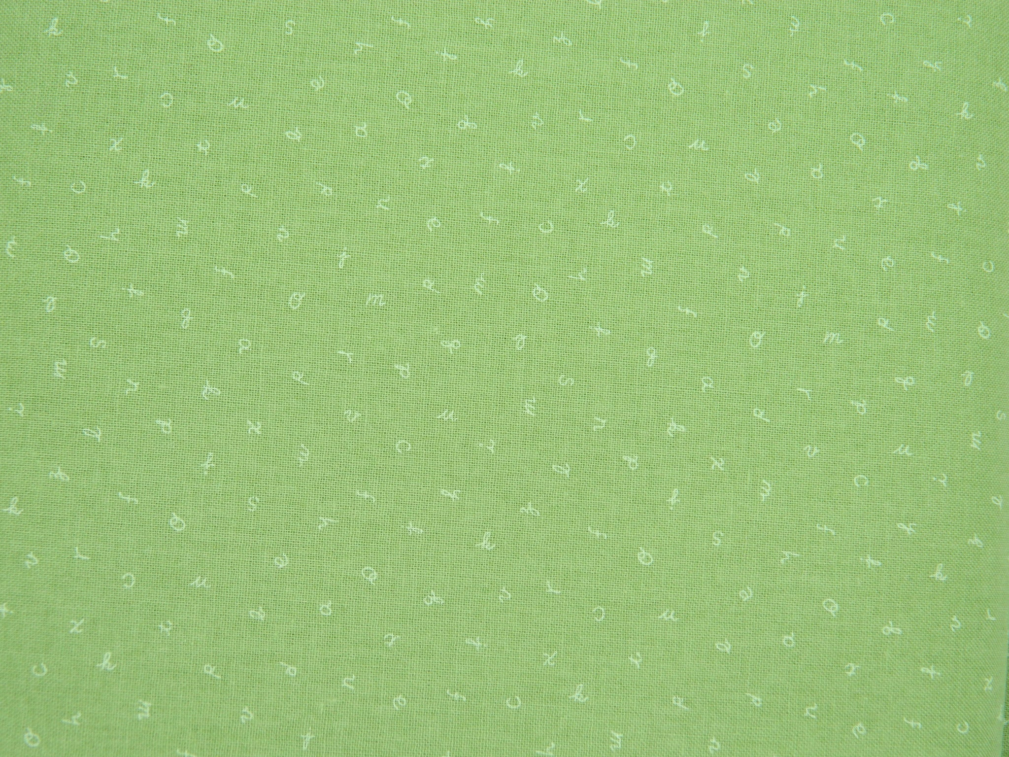 Green with Letters SS10257LE