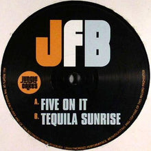 "Load image into Gallery viewer, JFB - Five On It - Tequila Sunrise  - Jungle Cakes - JC 014 12"" Vinyl"