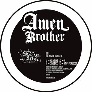 "DJH - Unfinished Biznizz EP - AB-VFS001- Amen Brother - 12"" Vinyl"