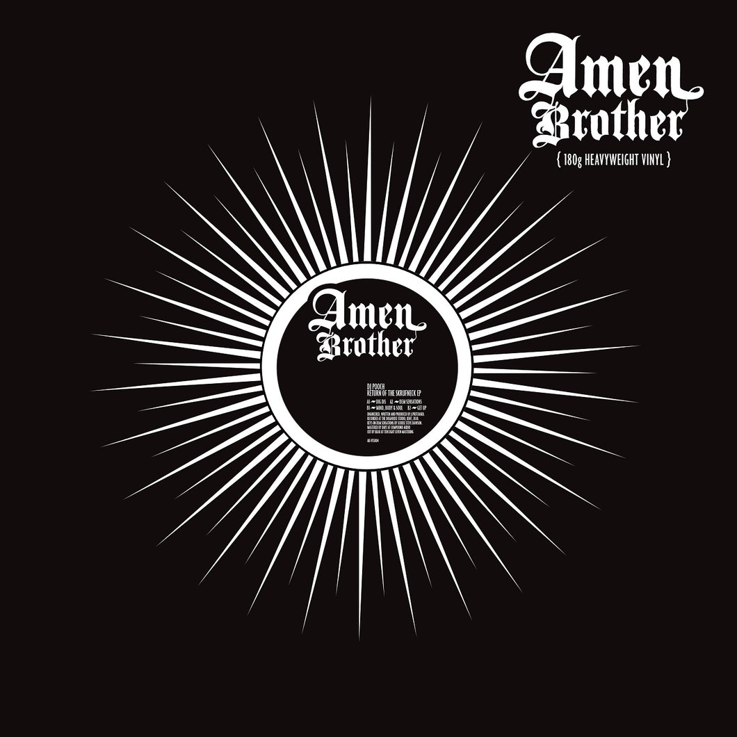 DJ Pooch 'Return Of The Skrufneck' EP – AB-VFS004- Amen Brother - 12
