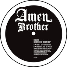 "Load image into Gallery viewer, DJ Pooch 'Return Of The Skrufneck' EP – AB-VFS004- Amen Brother - 12"" Vinyl"