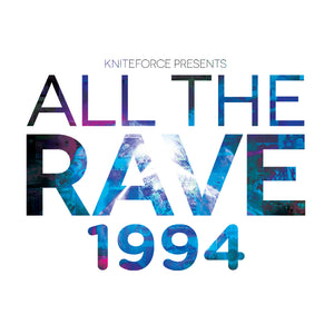 "BLUNTED/INNERCORE/TNO Project - All The Rave 1994 Album Sampler 12"" EP - Kniteforce -ATR004"
