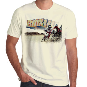 BMXXX Race Track Retro T-Shirt 100% Cotton 10 colours
