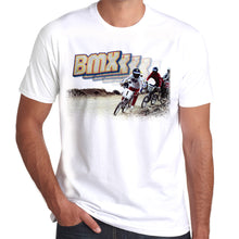 Load image into Gallery viewer, BMXXX Race Track Retro T-Shirt 100% Cotton 10 colours