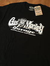 Load image into Gallery viewer, Gas Monkey Garage Blood Sweat & Beers Black mens T-Shirt 100% Cotton