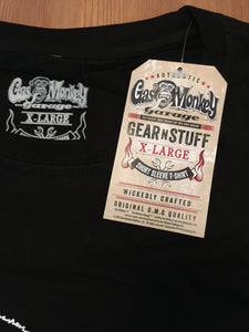 Gas Monkey Garage Blood Sweat & Beers Black mens T-Shirt 100% Cotton