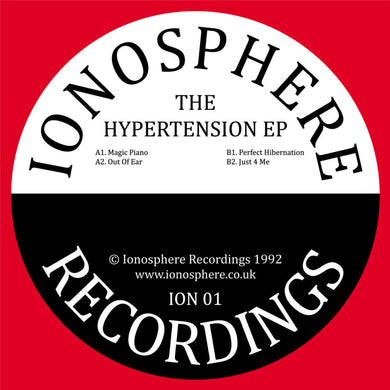 Ionosphere - The Hypertension EP - Ionosphere Recordings - ION001 - 12
