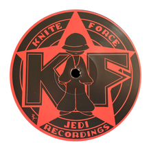 "Load image into Gallery viewer, Luna-C - Vol. 2 - EDGE OF MADNESS JEDI RECORDINGS/KNITEFORCE - JKF11 -12"" VINYL"