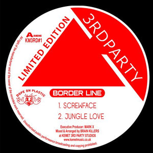 "3rd Party - Border Line EP Remastered - Kemet - KM3RD1R2 - 12"" -Screwface"