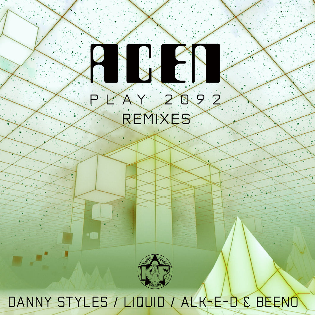Kniteforce KF113R - Acen - Play 2092 Remixes - 12