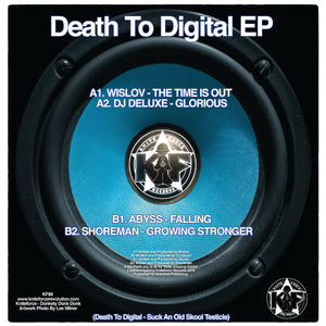 Kniteforce - Death To Digital EP Vol 3 - KF88 -WISLOV/DJ DELUXE/ABYSS/SHOREMAN