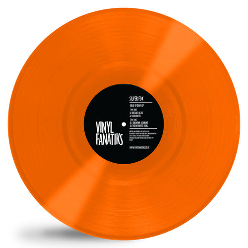 Silver Fox 'Dread By Dawn' EP Limited Booming Orange Vinyl – VFS010 Vinyl Fantiks