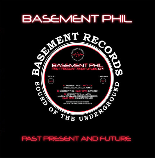 Basement Phil ‎– Past Present And Future EP1 - Basement Records ‎– BRSS063