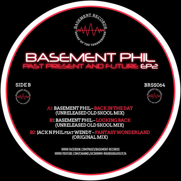 Basement Phil ‎– Past Present And Future EP2 - Basement Records ‎– BRSS064