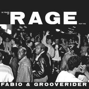 Fabio & Grooverider 30 Years of Rage Part  -2- double LP - Champion Sound - Just 4 U London
