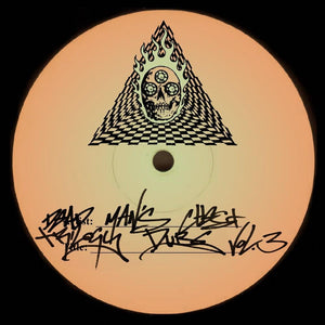 "Dead Man's Chest - Trilogy Dubs Vol.3- Ingredients Records - Recipie 054 - 10"" Vinyl"