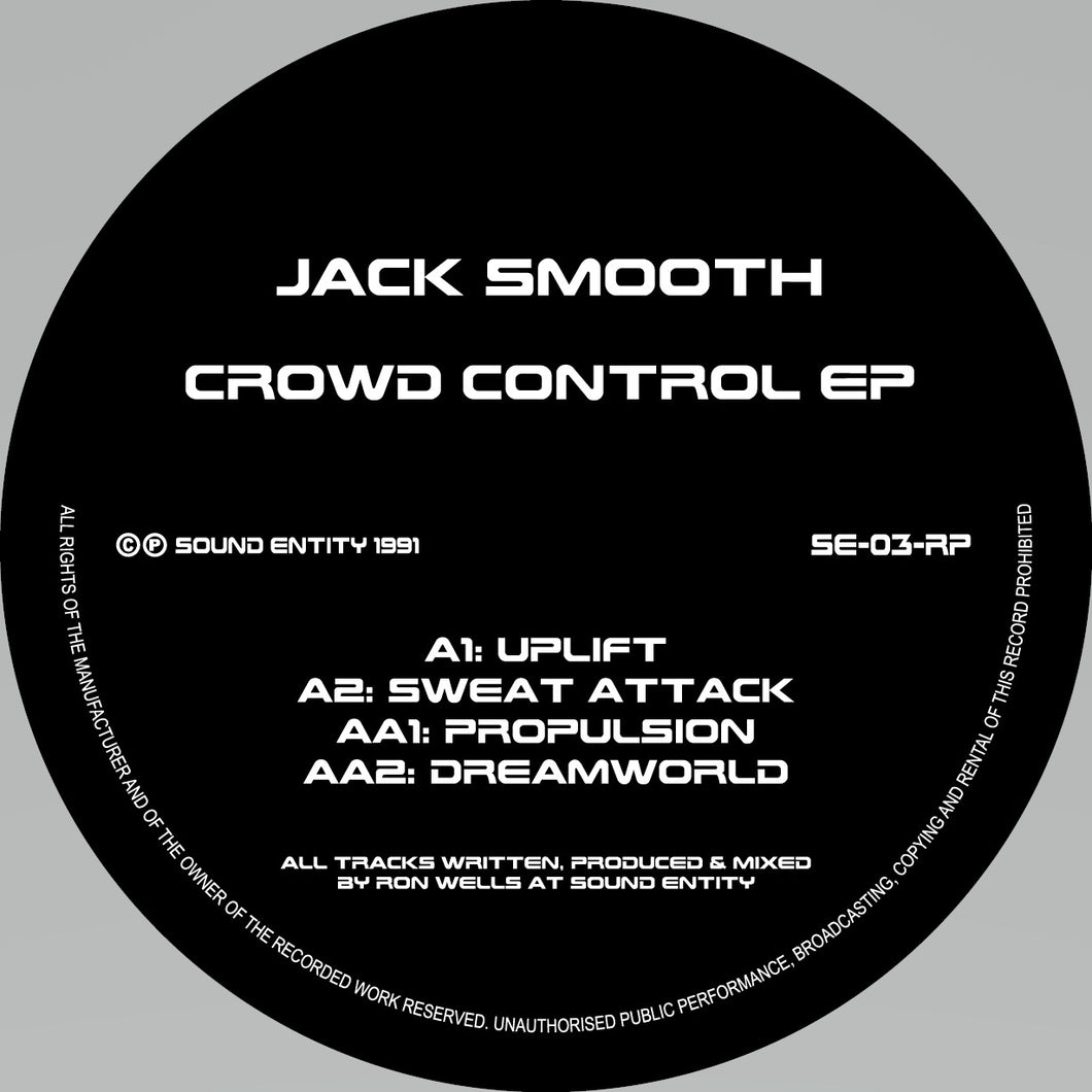 Jack Smooth - Crowd Control EP  - 12