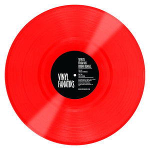 "Spirits From An Urban Jungle 'Prologue To Freedom/White Lightning' 12"" Limited 'Cherry Red' Vinyl – VFS016 –Vinyl Fanatiks"