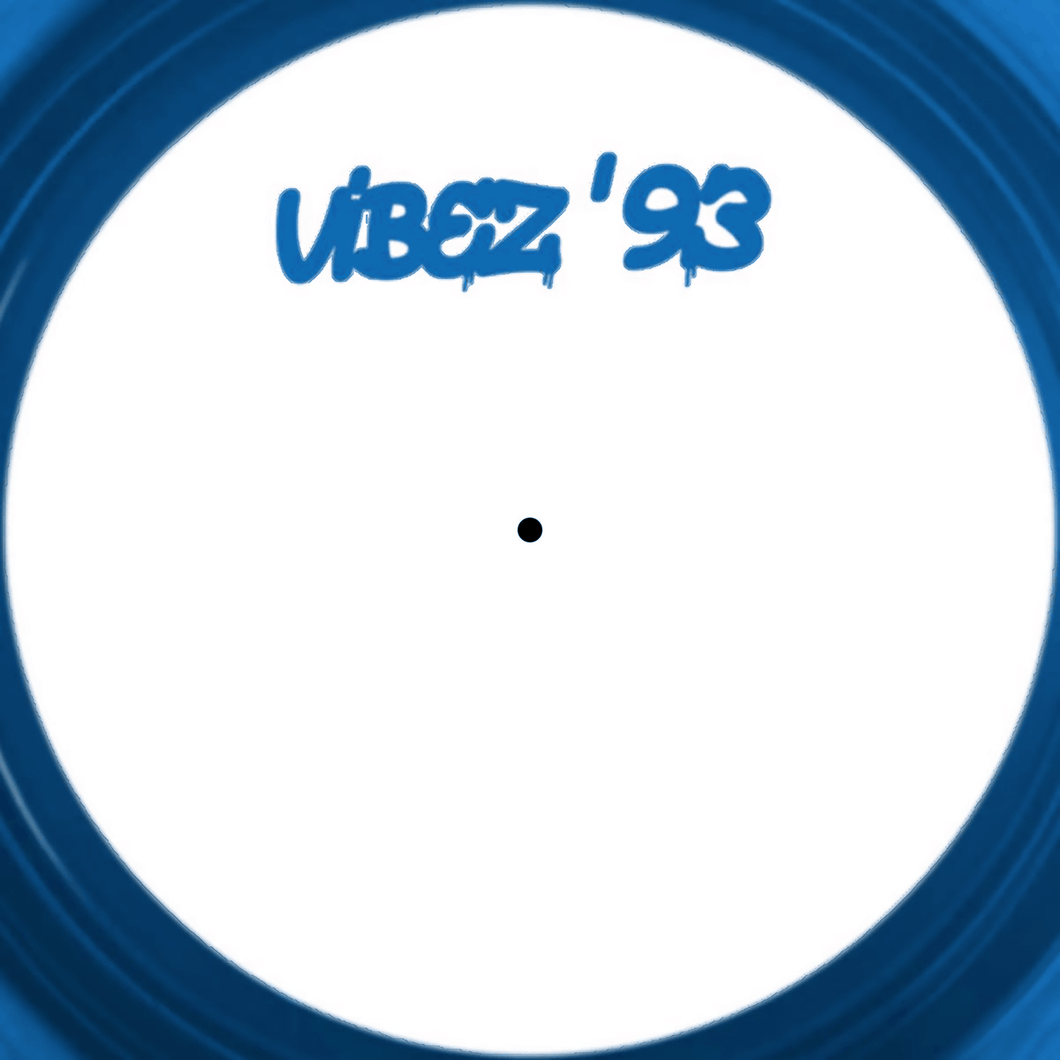 VIBEZ 93 The Dance EP - Blue Vinyl- Dutch Import - Vibez93002 - Fokuz Recs