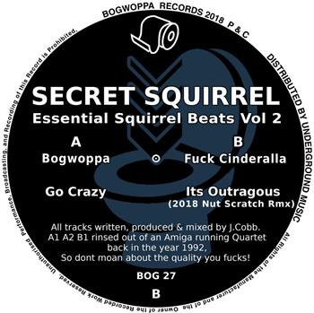 SECRET SQUIRREL - Essential Squirrel Beats Vol 2 - Bogwoppa -BOG 27 -12