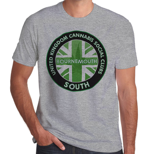 United Kingom Cannabis Social Club South Official T-shirts
