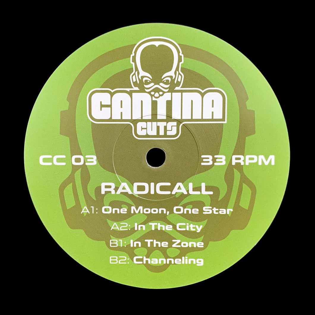 Cantina Cuts #3 - One Moon, One Star - Radical - CC03 - 4 track 12