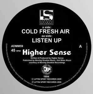 "HIGHER SENSE - Cold Fresh Air - Liftin Spirit records - ADMM 59 -12"" vinyl"